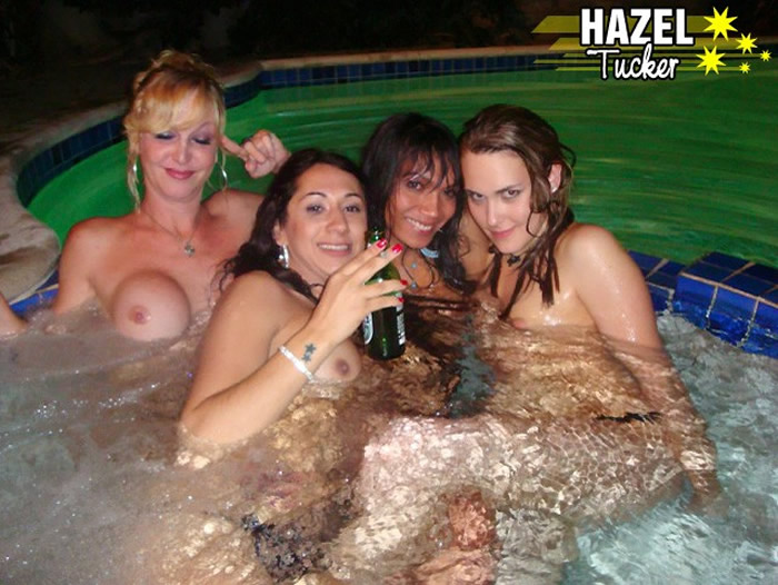 Hazel Tucker Hot Tub